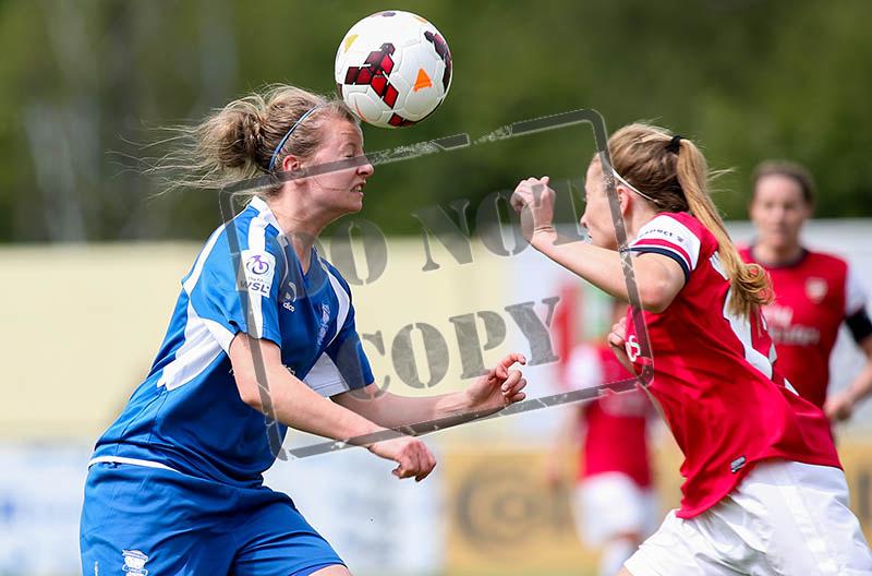 Birmingham City Ladies FC - Arsenal Ladies - FA Women's Cup - 1/4 Final - 04/05/2014 - Solihull Moors, West Midlands - ©Ville Vuorinen/GooGaBu Nordic Creations Ltd - NO UNPAID USE ALLOWED - www.googabucreations.com
